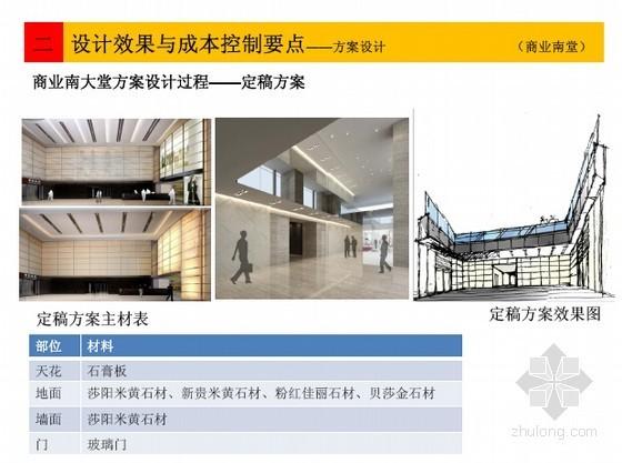 [标杆地产]房地产项目设计效果与成本控制要点分析(图片丰富)