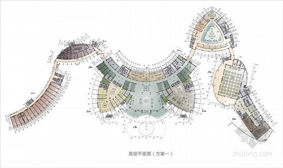 [广东]旅游产业园五星级现代酒店室内设计方案(含进度计划表)