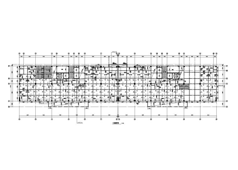 [浙江]杭州九茂大厦老年公寓改造结构施工图(2012)