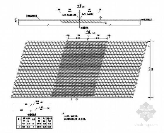 3×10米预应力混凝土空心板桥面连续钢筋构造节点详图设计