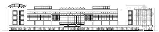 某四层商场建筑设计方案图