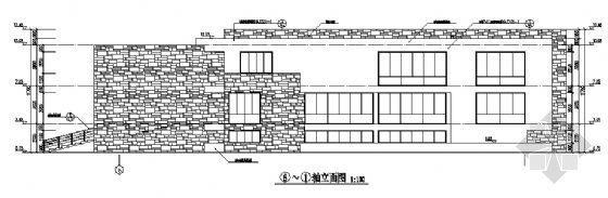 九龙基地服务楼建筑施工图-2