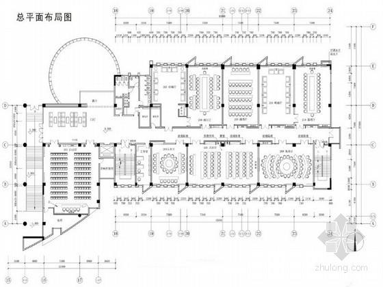 [广东]高等名校大学会议中心室内设计概念方案