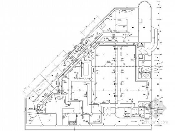 商业广场建筑防排烟系统设计施工图