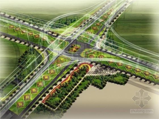[上海]城市交通主干道绿化改造设计方案