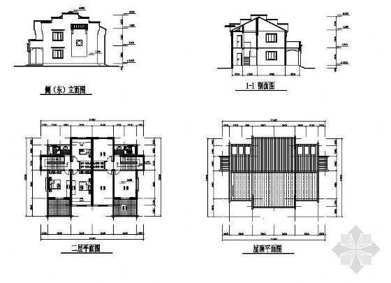 农村小康住宅方案带效果图