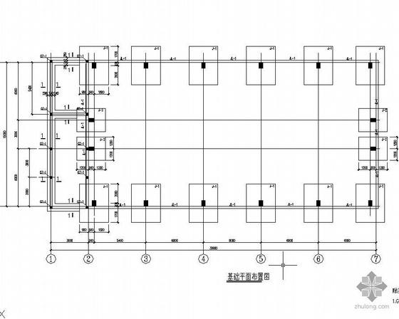 某排架结构空压站图纸