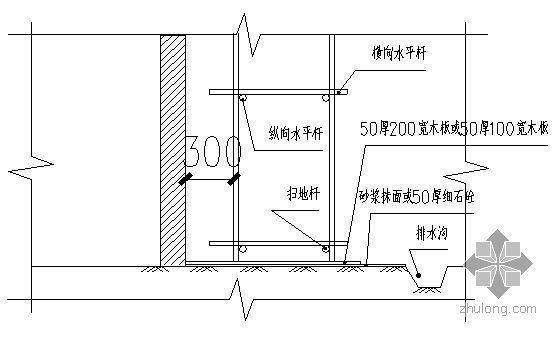 广东某高层住宅悬挑脚手架施工方案