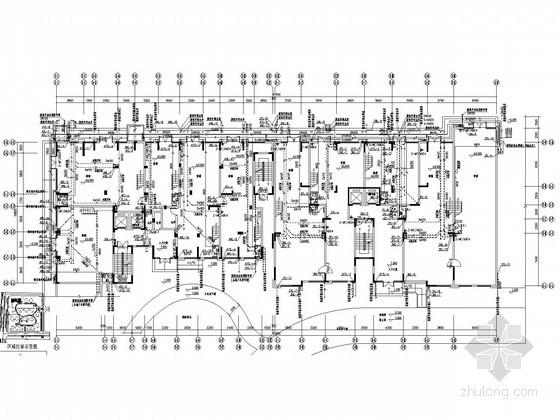 [湖北]十五层商住建筑给排水施工图