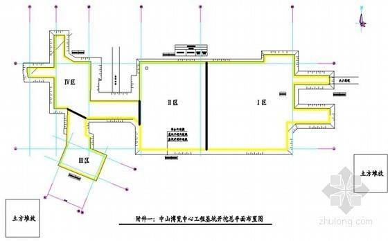 [广东]博览中心土方开挖施工方案