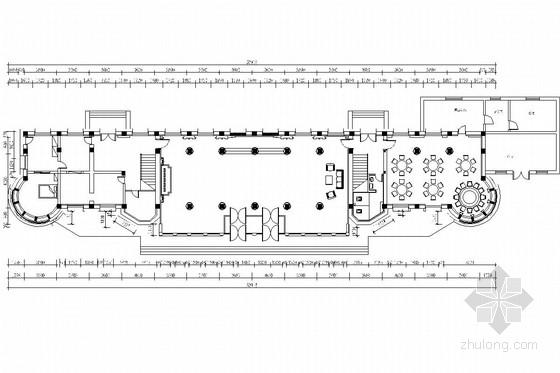 [吉林]高档四星级经济型商务酒店室内装修施工图