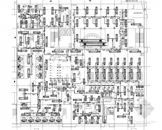 VRV空调装修图资料下载-[四川]医院综合门诊楼VRV空调系统及通风排烟系统施工图(全热交换器 动力系统)