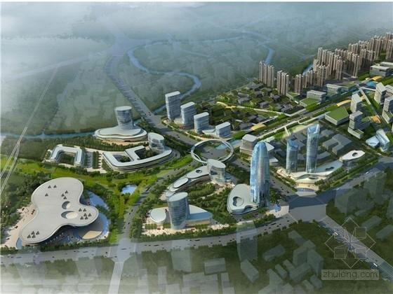 [四川]轨道交通高科技产业园规划设计方案文本(知名设计院)