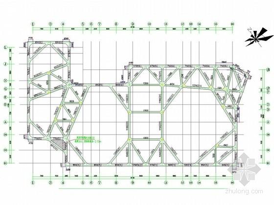 [浙江]排桩加一道混凝土支撑及水泥搅拌桩止水帷幕深基坑支护施工图