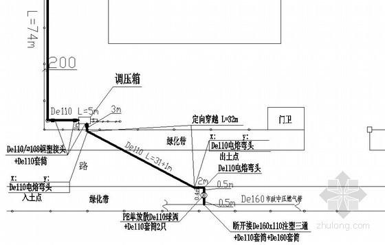 [苏州]燃气管道工程竣工图