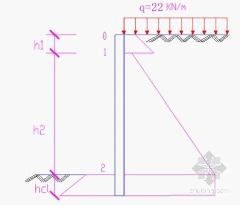 [山东]深基坑支护设计计算书(排桩 锚杆)