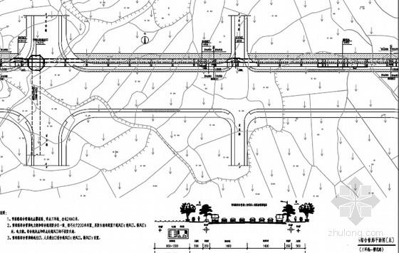 [湖南]2016年城市两舱三舱综合管廊施工图纸850张(工艺土建 设备 控制中心)