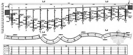 某盘山公路曲线大桥全套设计图纸