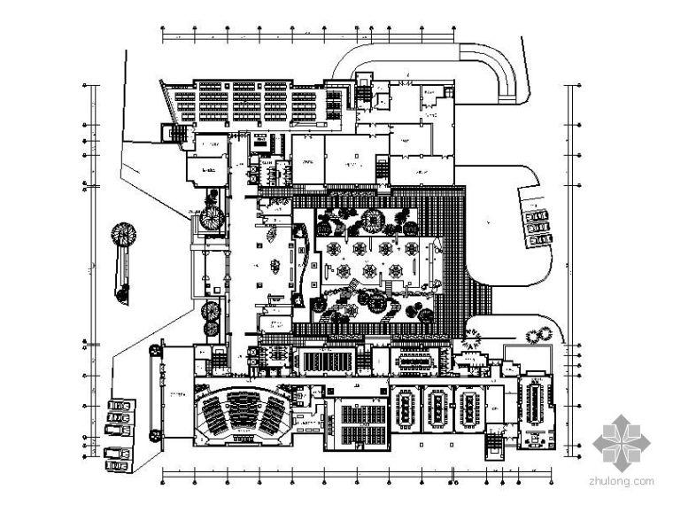 [厦门]建行研发楼装修设计图(含效果图)