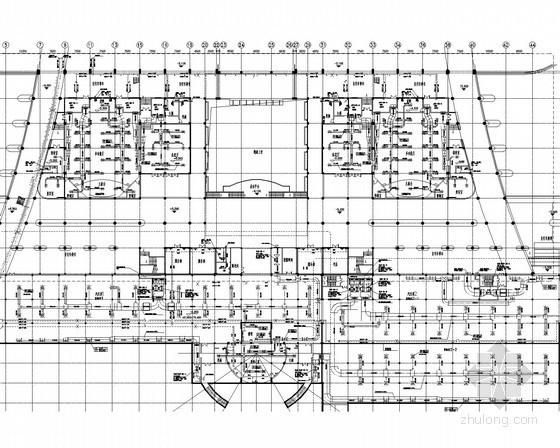 广场及地下工程空调通风系统设计施工图(汽车库、多功能厅)