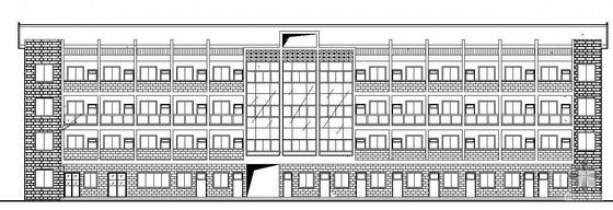 [金华市]某四层办公楼建筑结构水电施工图