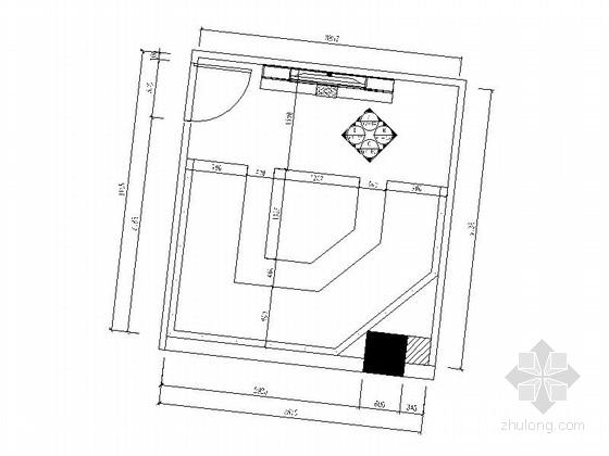 [厦门]高档量贩式KTV包厢室内装修施工图