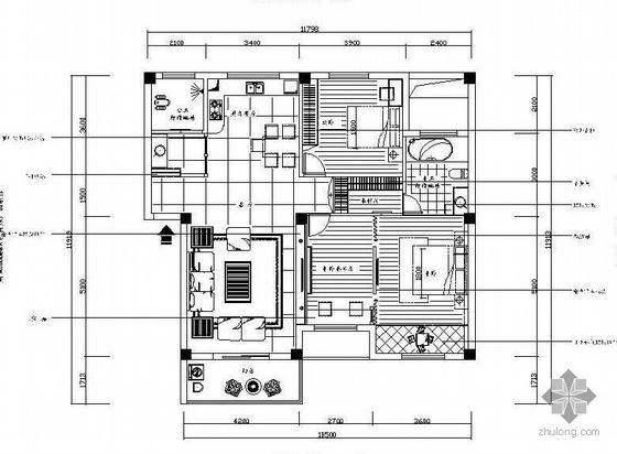 [武汉]三室两厅设计图