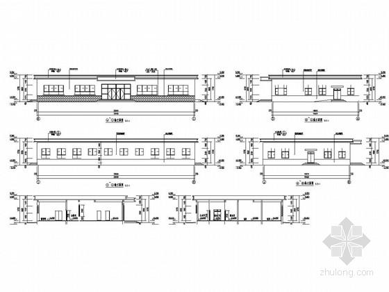 [山西]单层框架结构职工食堂结构施工图(含建筑图)