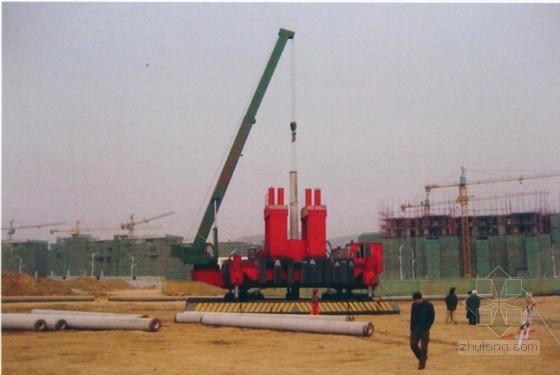 [广东]静压预应力管桩及旋挖钻孔灌注桩施工方案