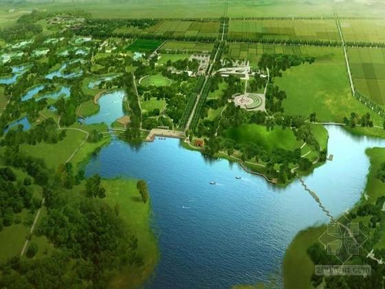 [西安]城市复合型湿地公园景观规划设计方案