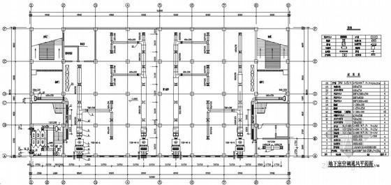 中型商场中央空调设计图纸