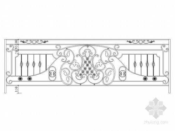 铁艺栏杆设计通用图(41张 适用广泛)