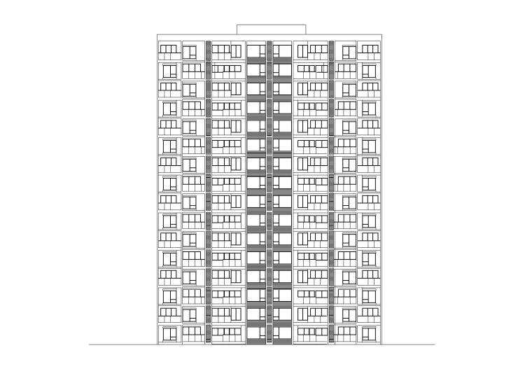 [上海]嘉定万达广场商住综合体高层住宅建筑施工图(CAD)
