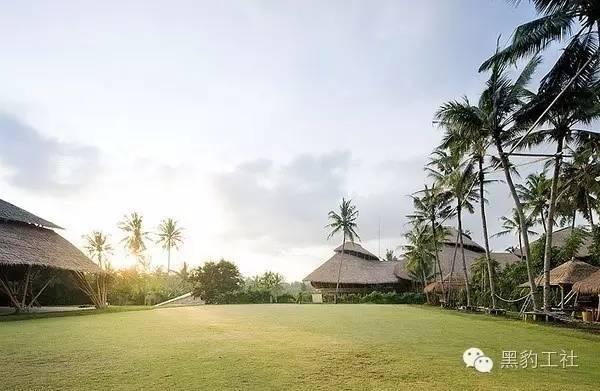 景观设计中的竹建筑案例浅析—— 巴厘岛上的竹子学校