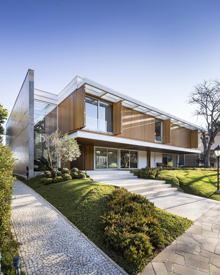 结构与空间融合的JardimdoSol住宅-2