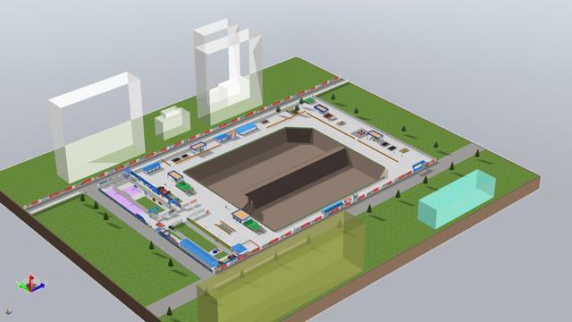 兰石集团老厂区改造项目Ⅱ标段BIM应用赏析