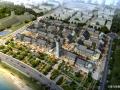 [山东]仿古精品海景片区商业街建筑设计方案文本(含两套方案)