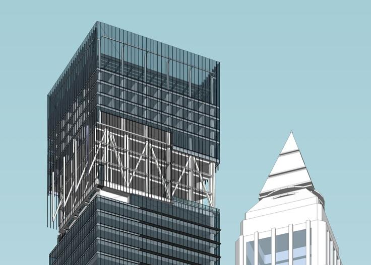 办公住宅区一体化城市设计方案sketchup模型2