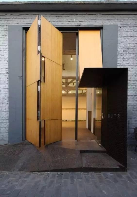 超有设计感的建筑入口_5