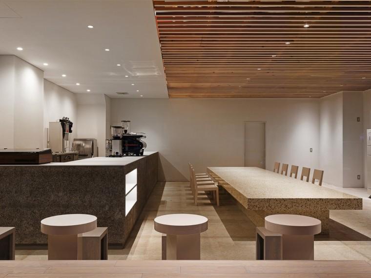 日本极简主义的咖啡馆