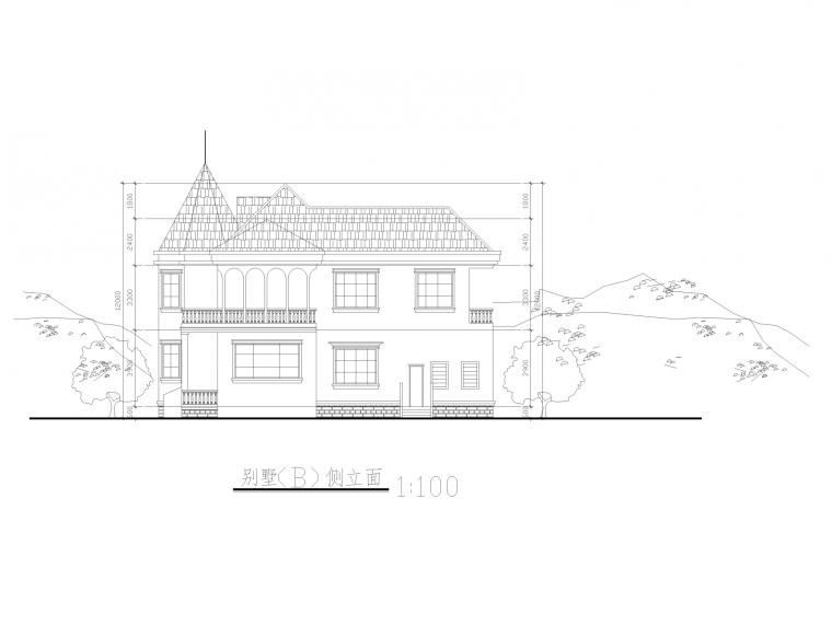 新农村建设全套建筑图_7