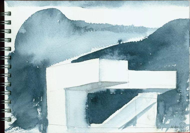 斯蒂文·霍尔在中国的首个作品展,向我们摊开了他个人的手绘本_13