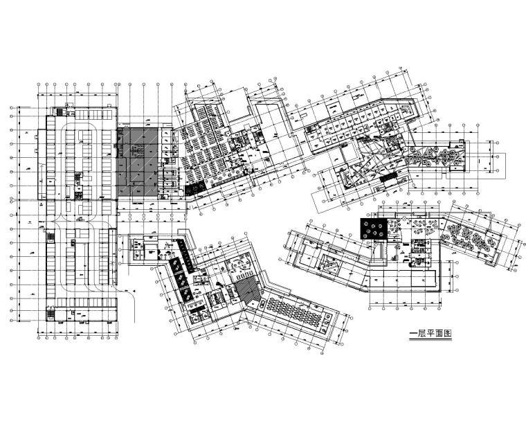 [浙江]阿里巴巴杭州总部装修设计施工图