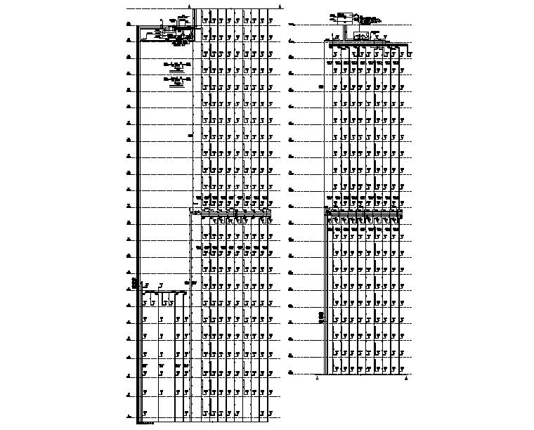 八栋消火栓系统图