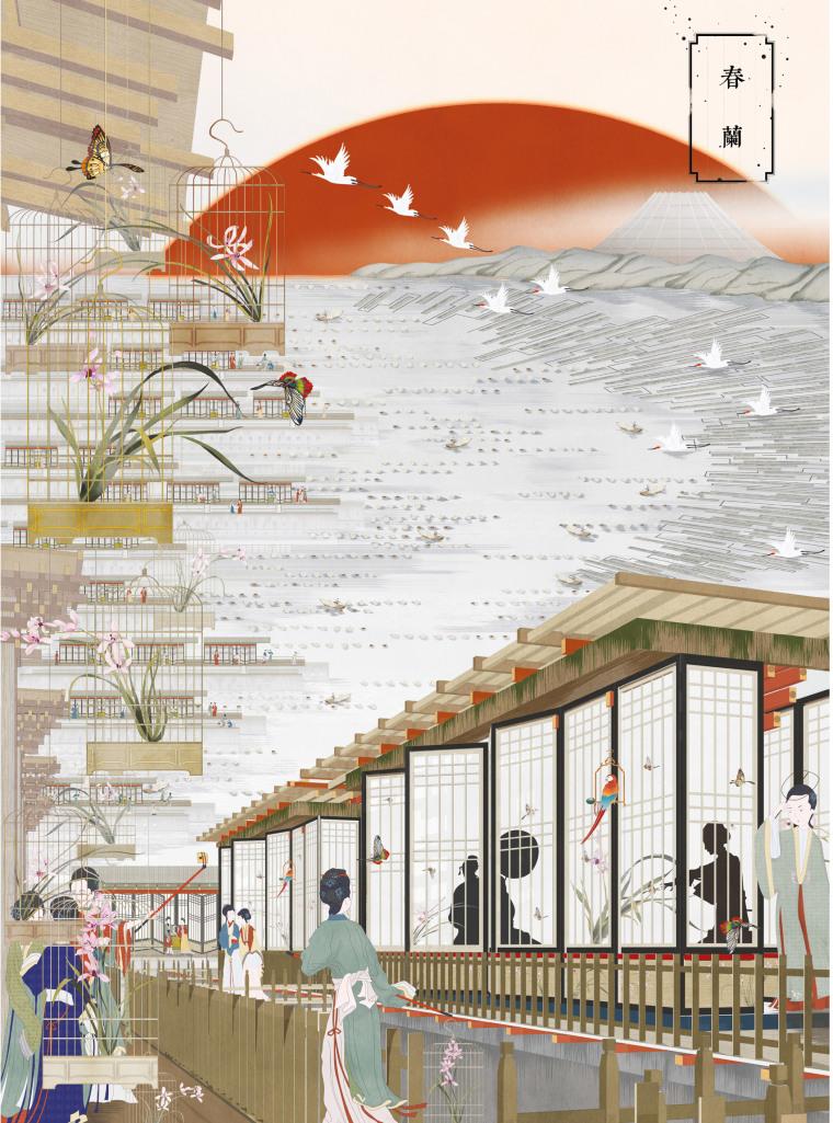 中国古典素材合集-图片参考(共69张)