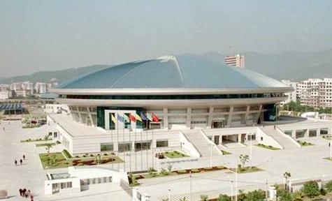福建省体育馆结构设计