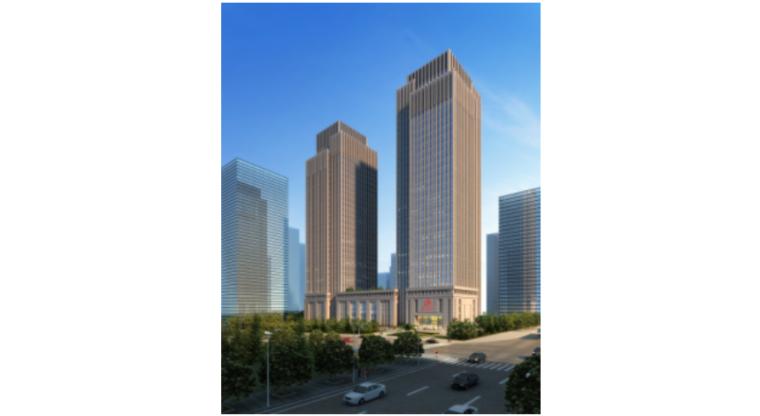[重庆]新闻传媒中心一期工程塔楼31-33F信息发布大厅高支模安全专项施工方案(附CAD图及计算书)
