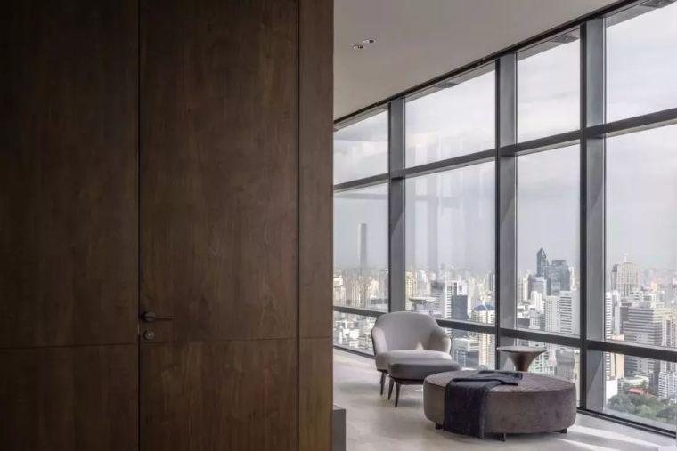 室内设计 130㎡的单身公寓,设计感十足_17