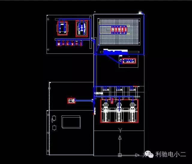 高低压配电柜三维透视图,你一定没见过!