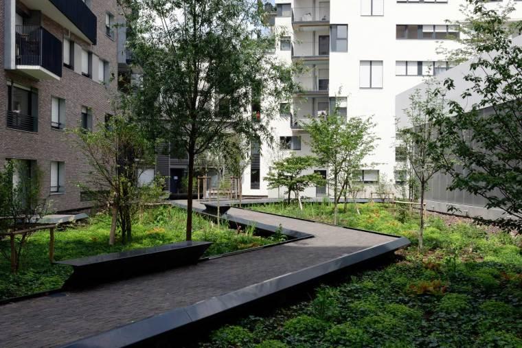 法国DocksdeSaint-OuenZAC住宅景观